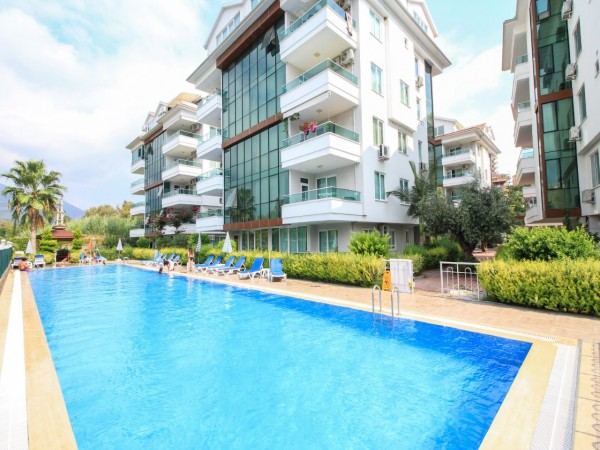Amazing apartment with a splendid view in Alanya