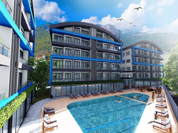 Impeccable property investment opportunity in new project in Alanya