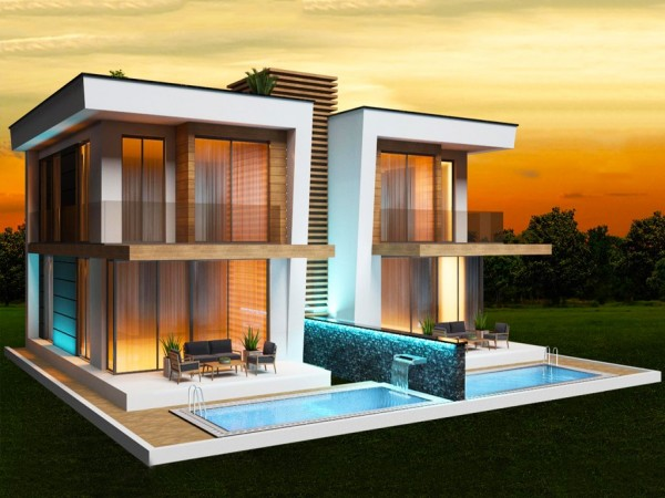 High luxury VIP villa for sale in Alanya