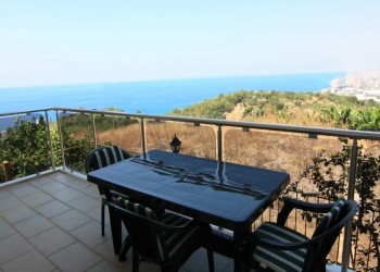 Absolutely beautiful 2 bedroom with panoramic views for sale in Alanya
