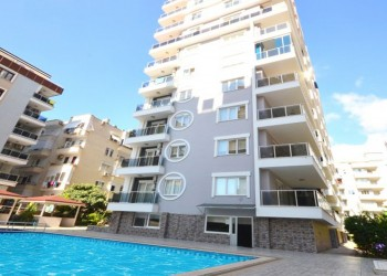 Very spacious and fully furnished 1 bedroom apartment for sale in Alanya