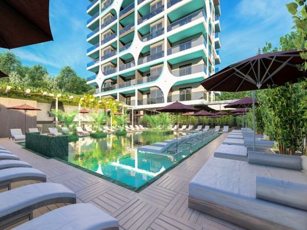 Charming and very affordable apartments for sale in Alanya