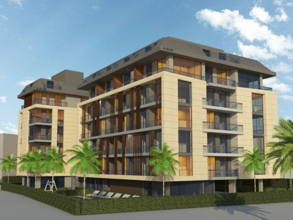 Luxurious new complex centrally located in downtown Alanya