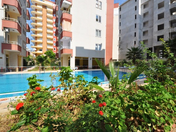 Cozy fully furnished 1 bedroom apartment for sale in Alanya