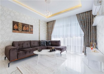 Very nicely designed 2 bedroom apartment for sale in Alanya