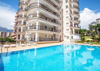 Spacious and fully furnished 2 bedroom for sale in Alanya