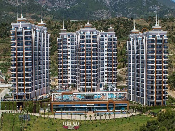 Fully furnished 2 bedroom in luxurious residential complex in Alanya