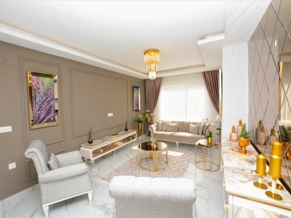 Luxurious and fully furnished 1 bedroom apartment for sale in Alanya