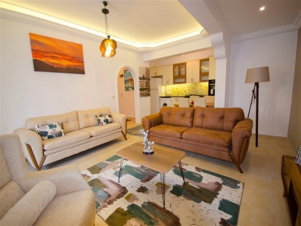 Affordable fully furnished and ready to move apartment for sale in Alanya