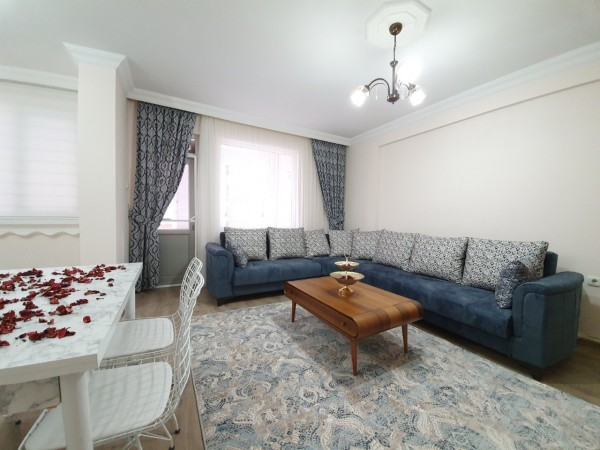 Cozy fully furnished 2 bedroom apartment for sale in Alanya