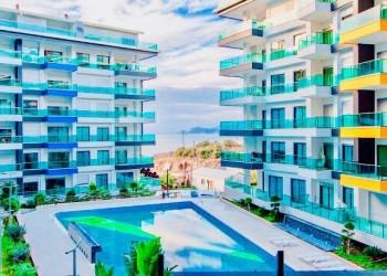 Стильно меблированные дуплекс-апартаменты в 250м от пляжа