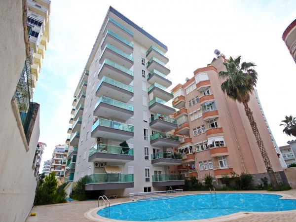 Nicely furnished modern style 1 bedroom for sale in Alanya