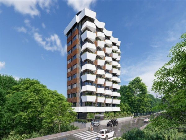 Lovely new project centrally located in Alanya