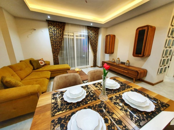 Delightful fully furnished apartment in Mahmutlar