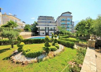Spacious and affordable 1 bedroom apartment for sale in Alanya
