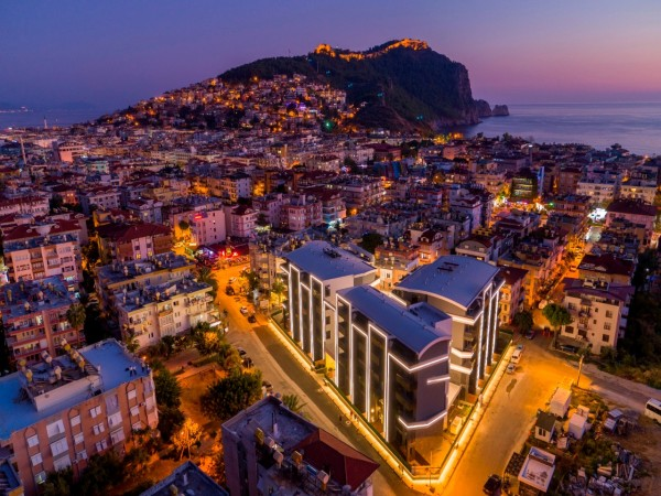 Exclusive new elite project in the center of Alanya
