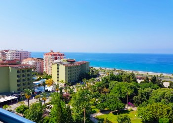 Bright 2 bedroom apartment with a panoramic view on Mediterranean sea