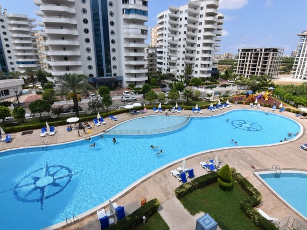 Luxury apartment with nice views in Alanya