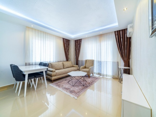 Fully furnished and spacious apartment in Mahmutlar