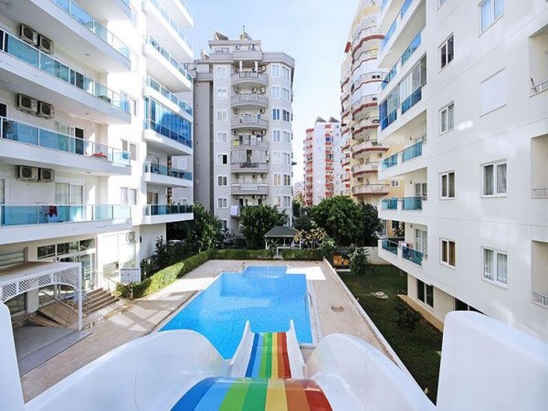 Cozy fully furnished 1 bedroom apartment in Alanya