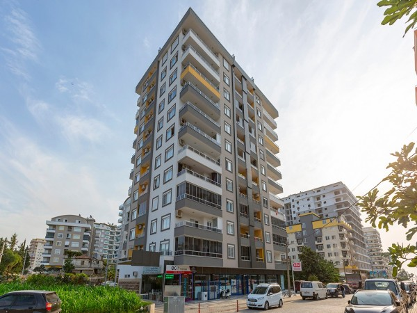 Luxurious fully furnished 2 bedroom penthouse for sale in Alanya