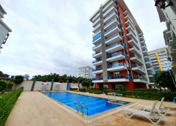 Nicely furnished affordable 1 bedroom apartment for sale in Alanya