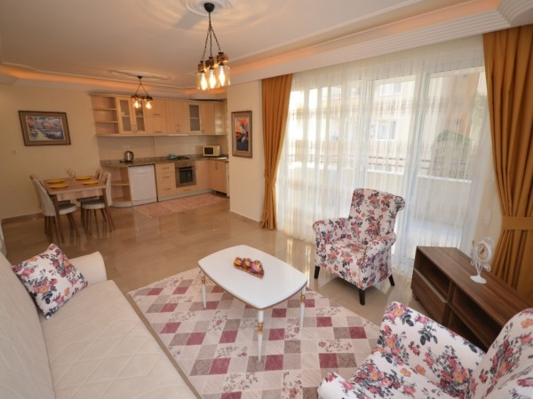 Lovely 2 bedroom apartment with nice location and ready to move in Alanya