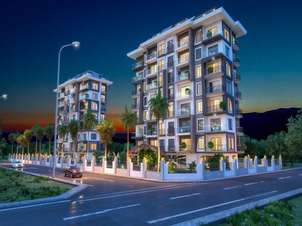New boutique project with payment plan launched in Alanya
