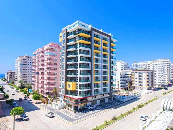 Fully furnished and ready to move 1 bedroom apartment for sale in Alanya