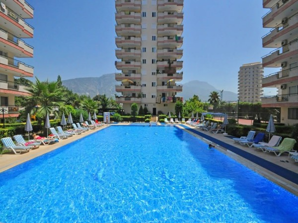 Stunning 2 bedroom apartment with large living surface for sale in Alanya