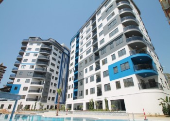 Amazing 2 bedroom apartment in exclusive complex centrally located in Alanya