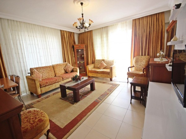 Lovely fully furnished 3 bedroom apartment for sale in Alanya