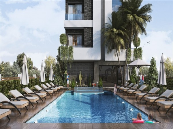 Stylish new complex ideally situated close to amenities in Alanya