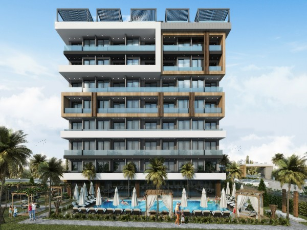 Affordable apartments in stylish new complex in Alanya