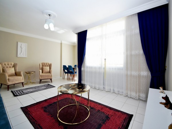 Bargain fully furnished and ready to move 2 bedroom apartment in Alanya