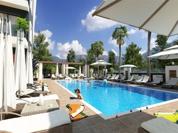 Beautiful new project close to the beach in Alanya