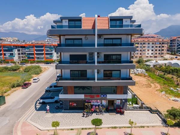 Stylish new project in popular neighborhood of Alanya