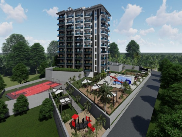 Affordable new project nicely located in Alanya