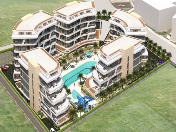 New Jewel in Town! Most exciting new project just launched in Alanya