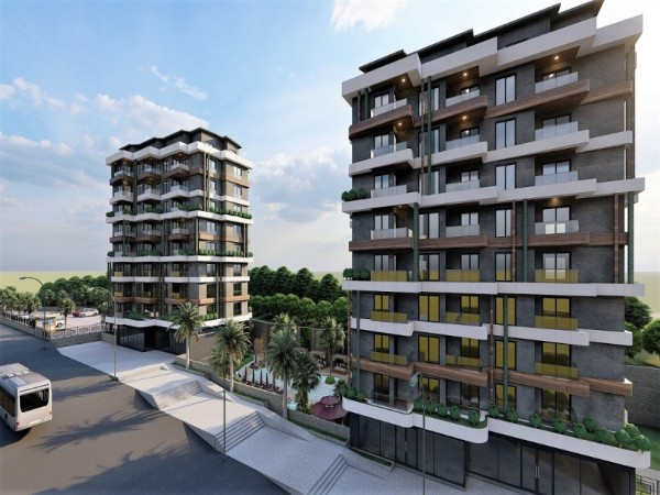Exclusive New Project in Popular Town of Alanya