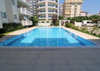 Fantastic 3 bedroom apartment with large living surface for sale in Alanya