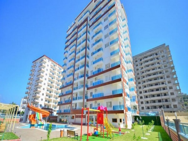 Extra large 1 bedroom apartment in exclusive project in Alanya