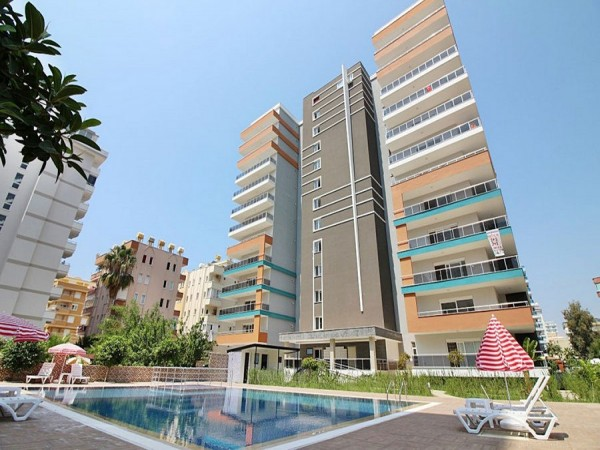 High quality 1 bedroom apartment in new residential complex in Alanya