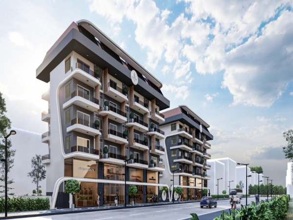 Exciting new project centrally located in popular neighborhood of Alanya