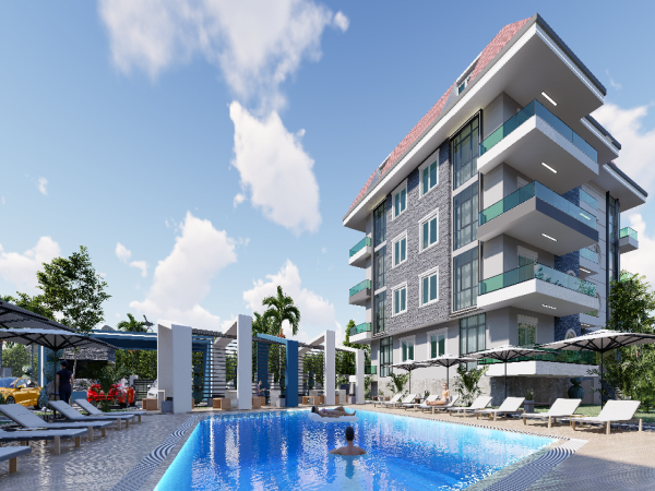Beautiful new project in popular neighborhood of Oba