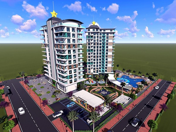 Exclusive new project launched in popular neighborhood of Alanya