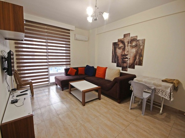 Superb fully furnished 1 bedroom apartment for sale in Alanya