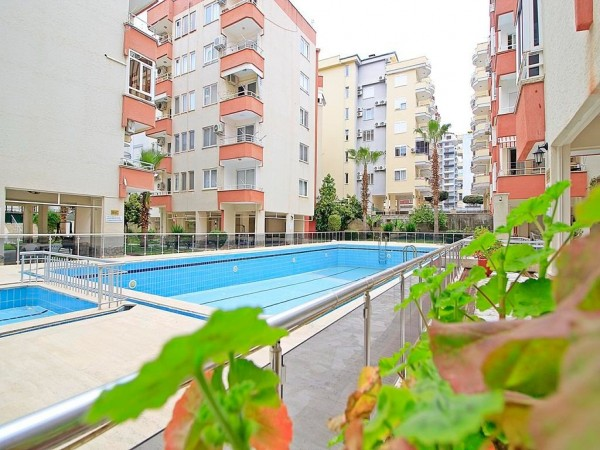 Exclusive fully furnished 3 bedroom apartment for sale in Alanya