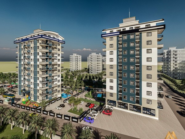 Absolutely stunning new project launch in popular neighborhood of Alanya