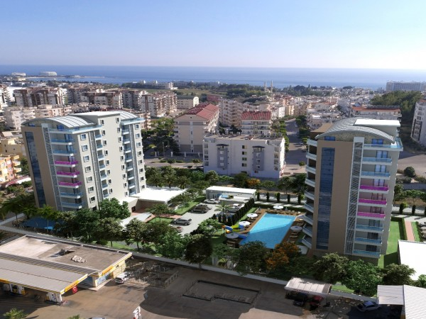 Exclusive High Quality New Project Centrally Located in Alanya